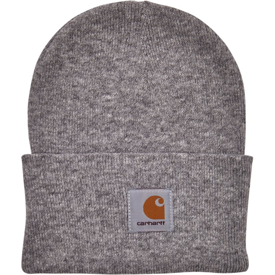 ACRYLIC WATCH HAT I020175 - Acrylic Watch Hat - Huer - GREY HTR - 1